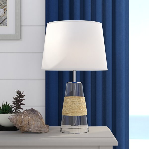 Burkes 20 Table Lamp by Highland Dunes