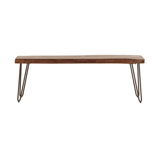 Nikhil Wood Bench by Union Rustic