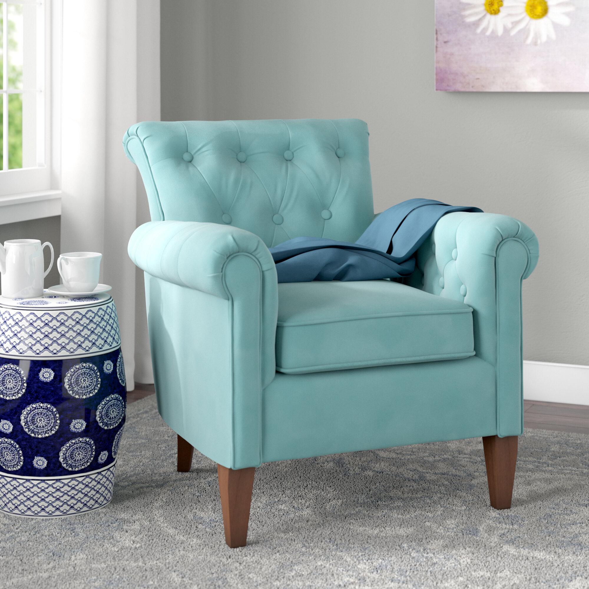Darby Home Co Bennet Tufted Armchair U0026 Reviews | Wayfair