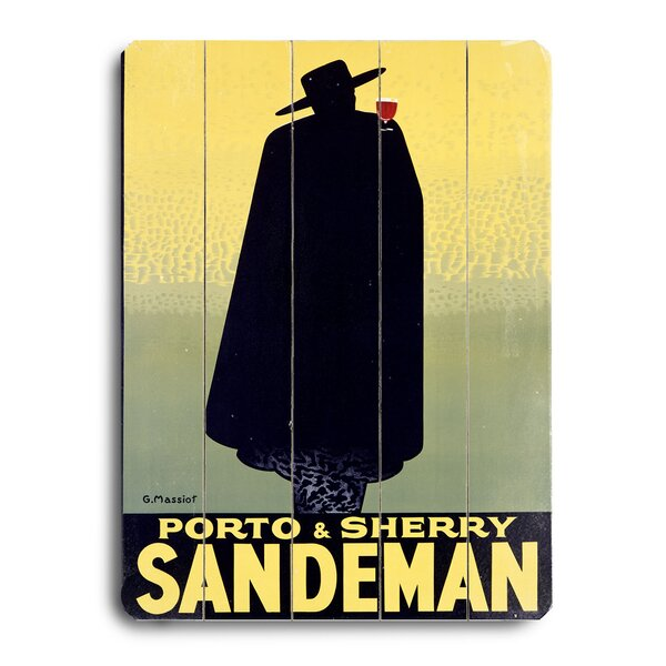 Sandeman Port Wine Vintage Advertisement by Red Barrel Studio