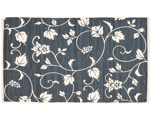 Cortege Navy Area Rug by Kathy Ireland Home