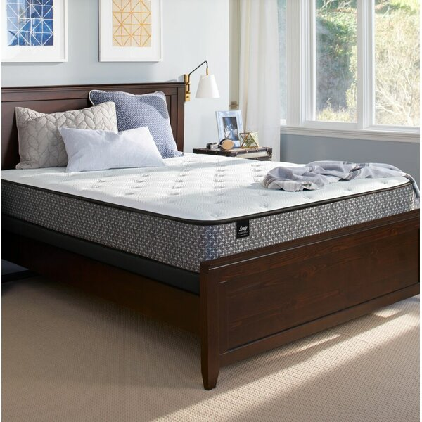 Response™ Essentials 10.5 inch Plush Tight Top Mattress and Box Spring by Sealy