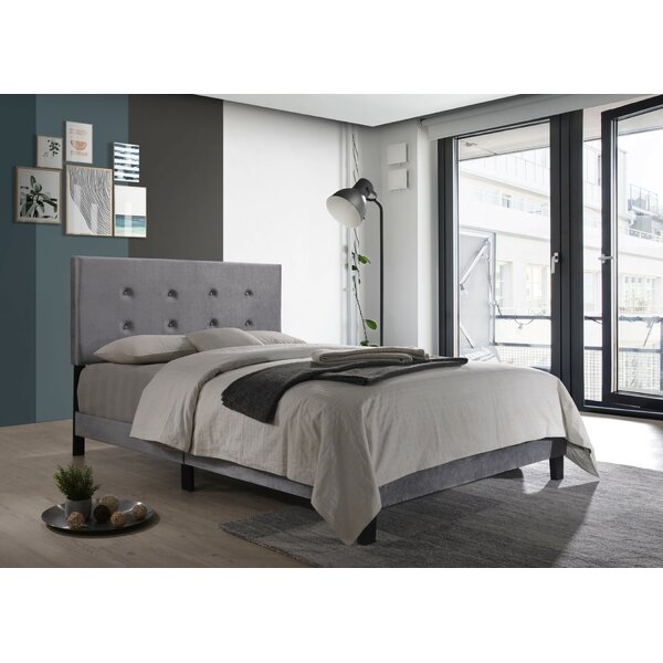 Axbridge Upholstered Platform Bed by Wrought Studio