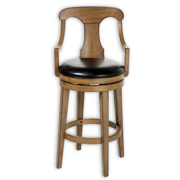 Chiana 26 Swivel Bar Stool by Darby Home Co