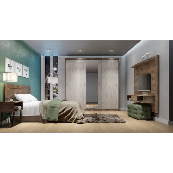 Pepper Platform Bed by Modern Rustic Interiors