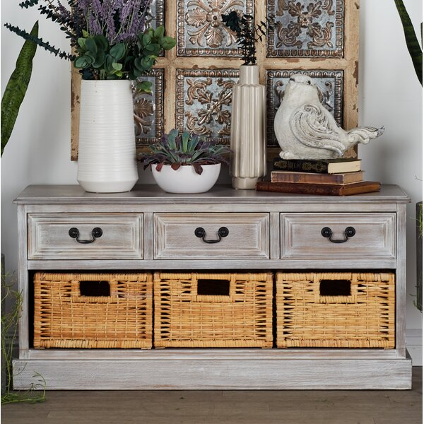 Drawer Storage Bench by Cole & Grey Cole & Grey
