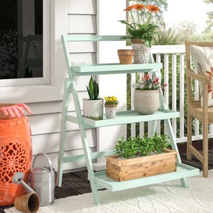 Reviews Goreville Modern Outdoor Multi-Tiered Plant Stand ByCharlton Home