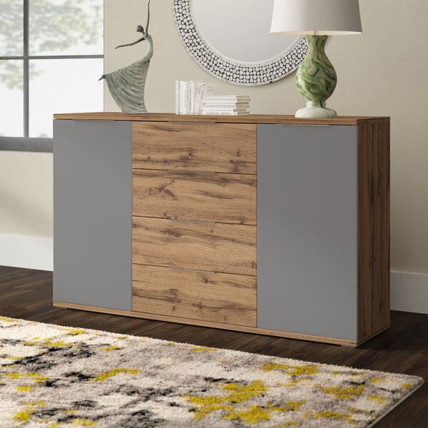 Jonkan 4 Drawer Combo Dresser by Latitude Run