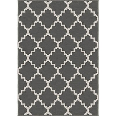 Legere Gray Area Rug by Charlton Home