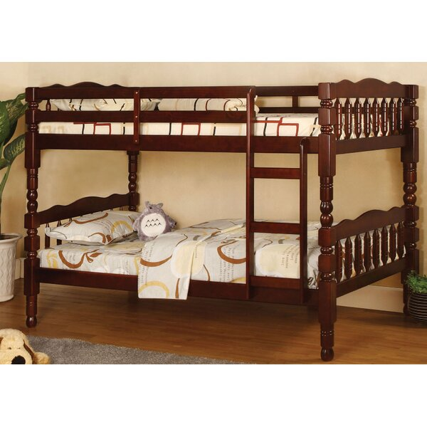 Crass Twin Over Twin Bunk Bed by Harriet Bee