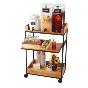 Madera Bar Cart by Cal-Mil