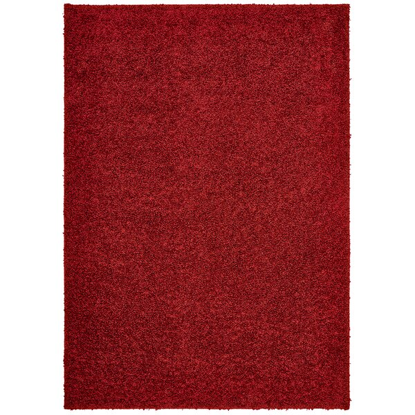 Vanessa Hand-Tufted Red Area Rug by Threadbind