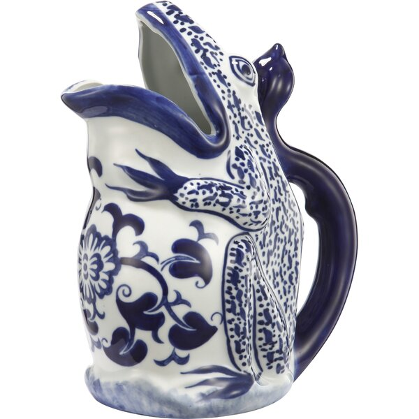 Flint Decorative Pitcher by World Menagerie