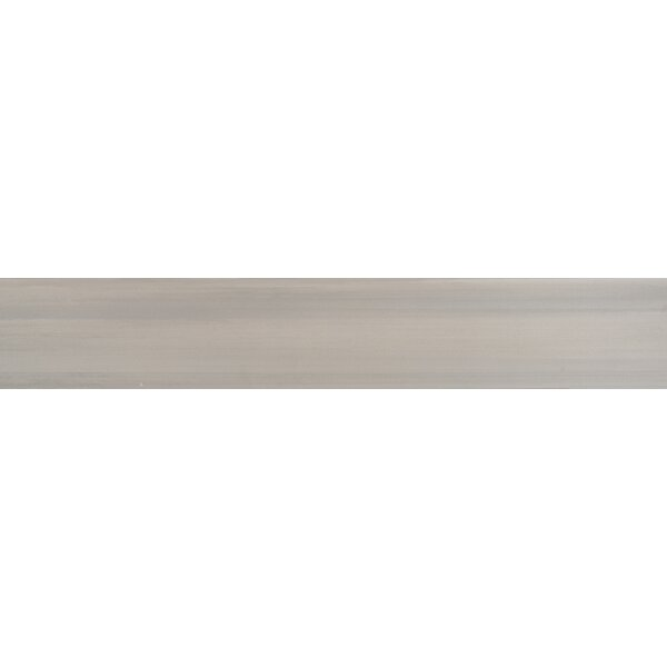 Watercolor Grigio 6 x 36 Porcelain Tile in Gray by MSI
