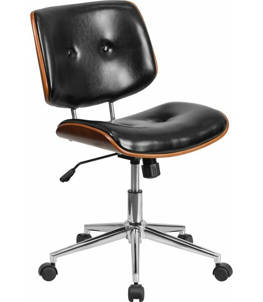 Crotts Mid-Back Ergonomic Office Chair by George Oliver