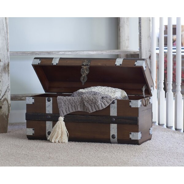 Collier Steel Band Trunk by Williston Forge
