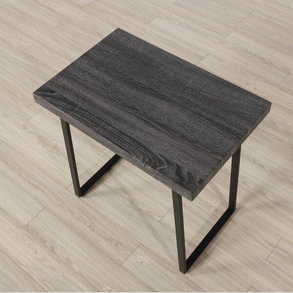 Sled End Table By Latitude Run