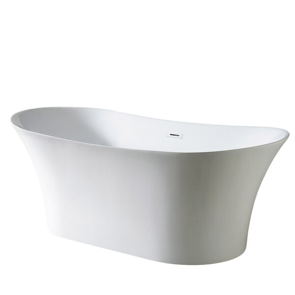 Skylar 71'' x 31'' Freestanding Soaking Bathtub(NOte trong IA) by Eviva