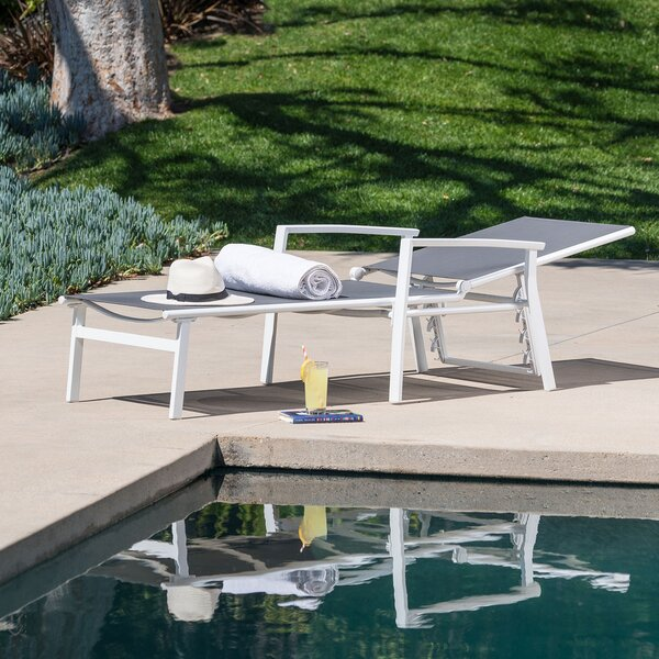 Lebron Reclining Chaise Lounge by Latitude Run