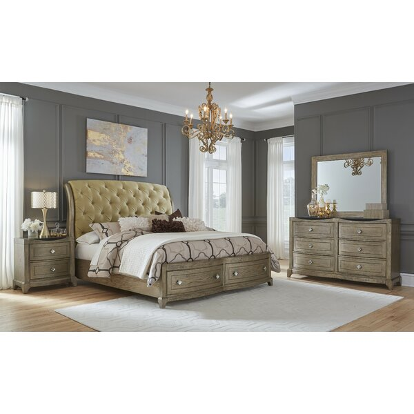 Ragnar Platform Configurable Bedroom Set by House of Hampton