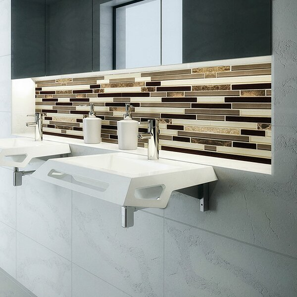 Lexine Solid Surface ADA Vitreous China Rectangular Wall Mount Bathroom Sink by DECOLAV