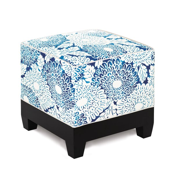 Indira Cube Ottoman by Eastern Accents