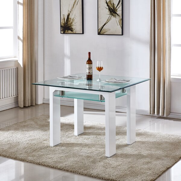 Dove Dining Table by Orren Ellis