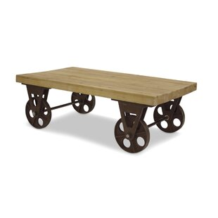 Superieur Harney Table With Wheels Coffee Table