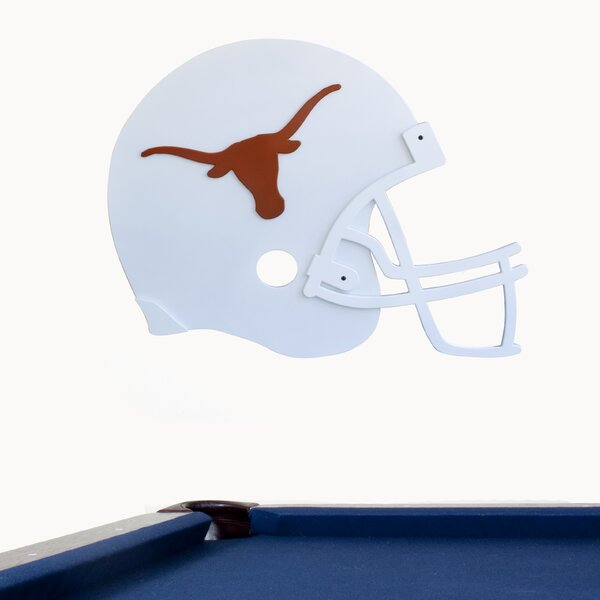 NCAA Helmet Graphic Art Plaque by Fan Creations