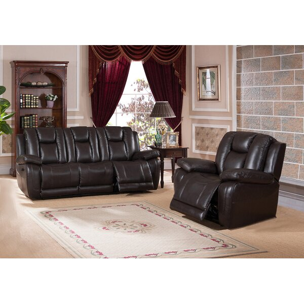 Mickey Reclining 2 Piece Living Room Set by Red Barrel Studio