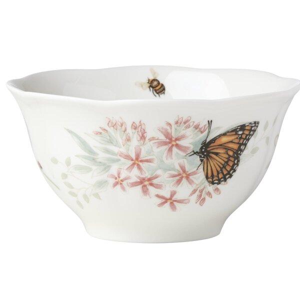 16 oz. Butterfly Meadow Flutter Eastern Blue Bird Rice Bowl by Lenox