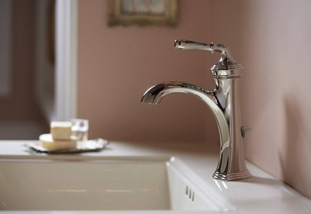 K 193 4 2bz Bn Bv Kohler Devonshire Bathroom Sink Faucet With Drain Assembly Reviews Wayfair
