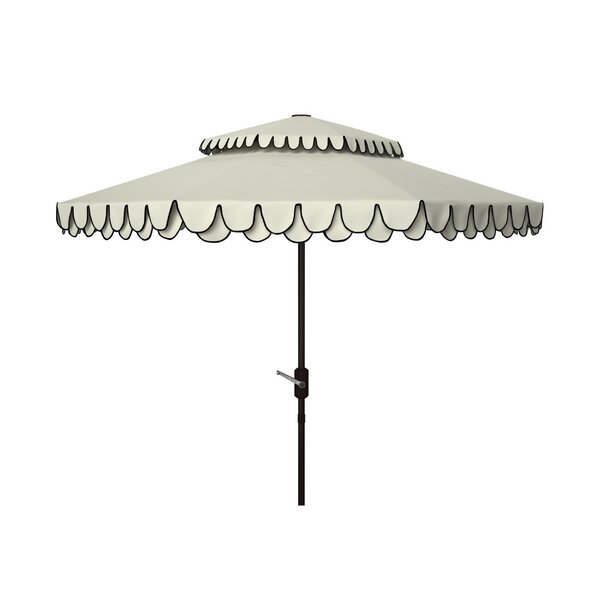 Isolda 8.5' Double Top Outdoor Umbrella by Charlton Home