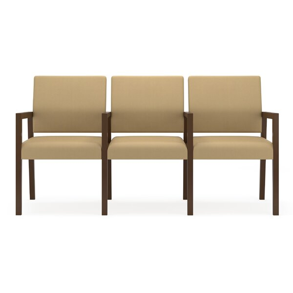Brooklyn 3 Seater with Center Arms by Lesro
