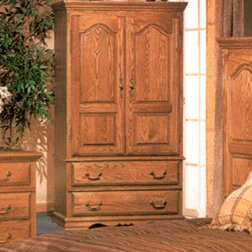 Country Heirloom Large TV Armoire by Bebe Furniture