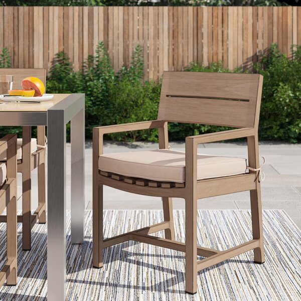 Daly Patio Dining Chair With Cushion By Foundstone by Foundstone Best #1