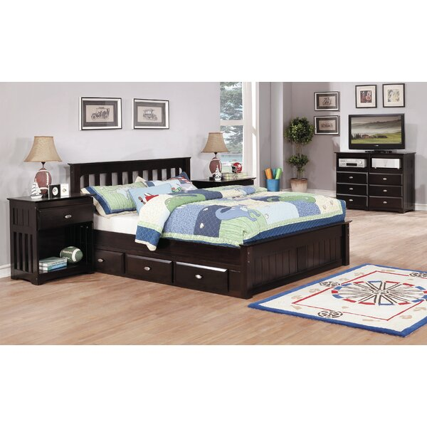 Baskin Full Platform Bed with 3 Drawers by Harriet Bee