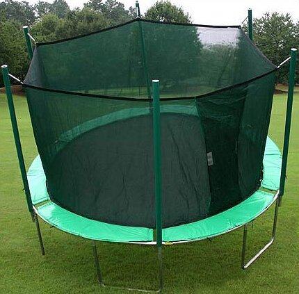 13.5 ft. Round Trampoline with Enclosure by Kidwis