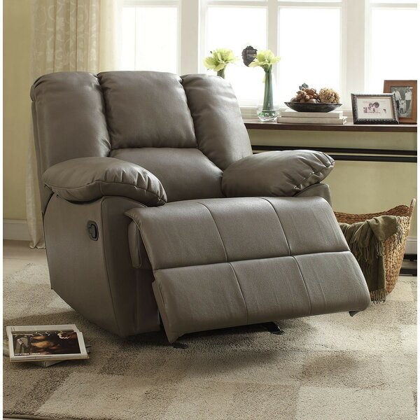 Moss Manual Glider Recliner by A&J Homes Studio