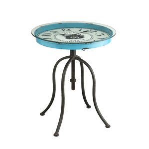 Mailiah Clock End Table by..