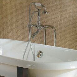 Era Double Handle Floor Mounted Clawfoot Tub Faucet By JACUZZI®