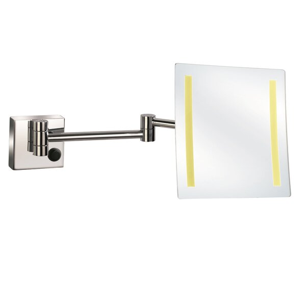 LED Wall Magnifying Plug in Accent Mirror by UCore
