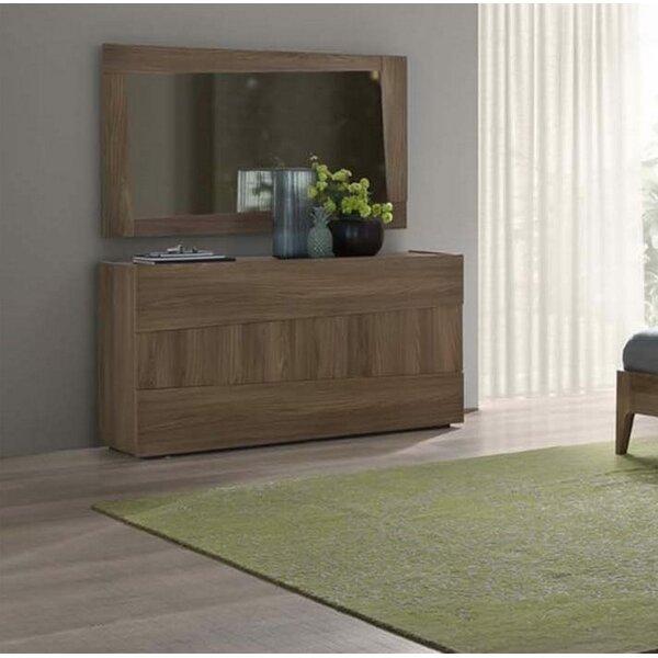 Antonucci 3 Drawer Dresser with Mirror by Brayden Studio