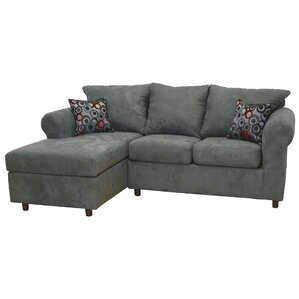 Dewitt Sectional  sc 1 st  Wayfair : black microfiber sectional sofa with chaise - Sectionals, Sofas & Couches