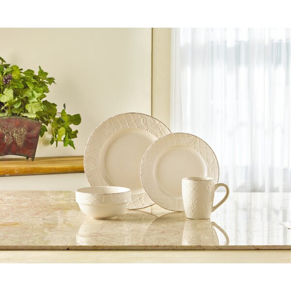 Northport 16 Piece Dinnerware Set, Service for 4 by Pfaltzgraff Everyday