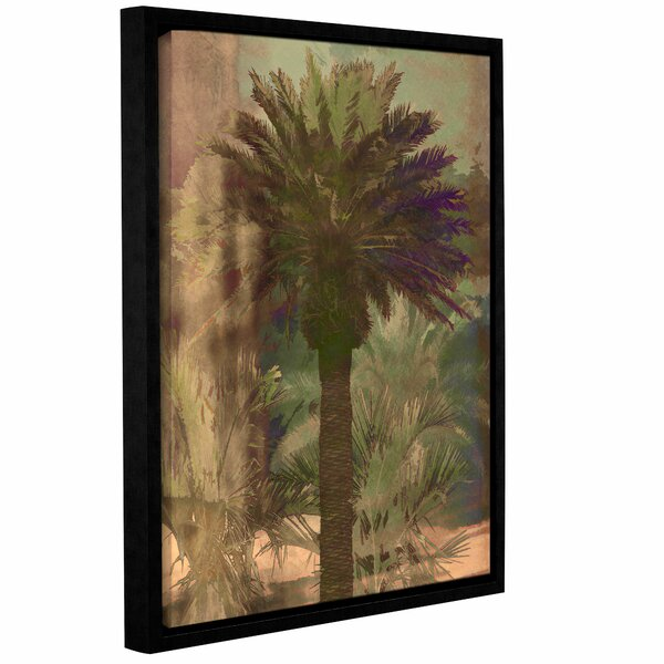 Palmae Framed Painting Print by Bay Isle Home