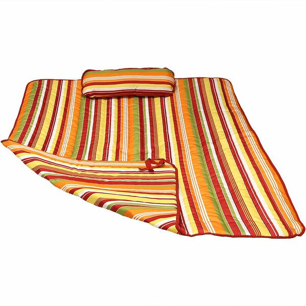 Kewstoke Stripe Polyester Quilted Hammock Pillows/Pads by Winston Porter Winston Porter