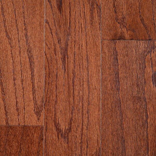 Riga 5 Engineered Oak Hardwood Flooring in Brown by Branton Flooring Collection
