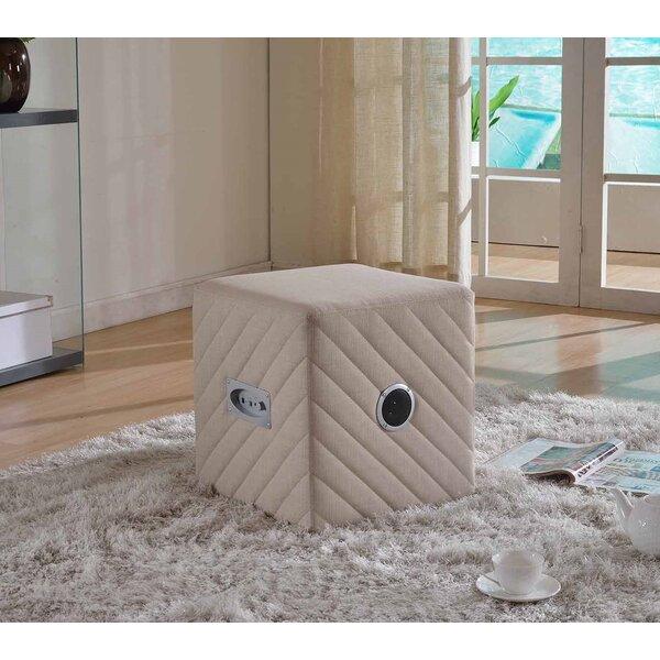 Elisa Cube Ottoman by Wrought Studio