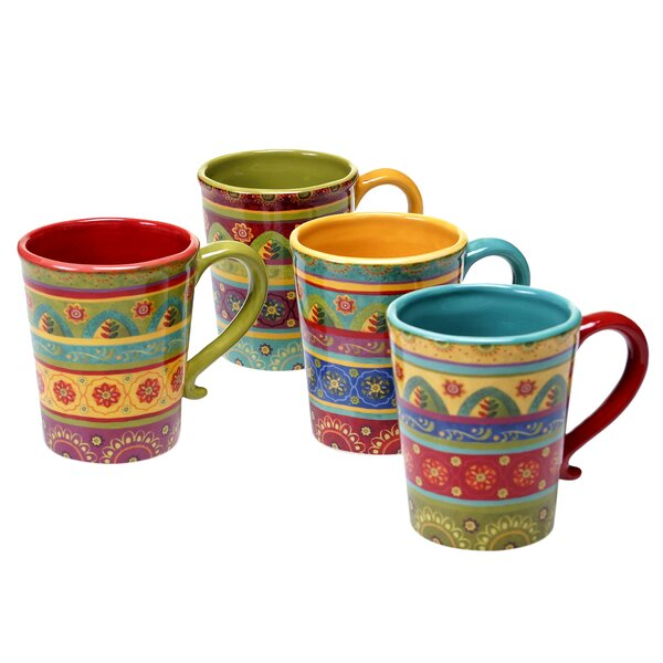 Ohlman 4 Piece Mug Set by Alcott Hill